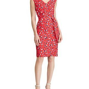 Lauren Ralph Lauren Floral Jersey Dress: 2373